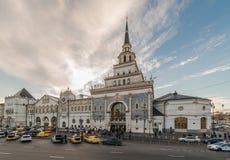 Estação de comboio de Kazan em Moscovo Imagem de Stock