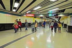 Estação de comboio de Kowloon, Hong Kong imagens de stock royalty free