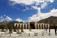 Estação de comboio de Lhasa Fotografia de Stock Royalty Free