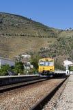 Estação de comboio de Pinhão fotos de stock