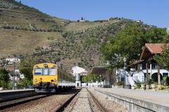 Estação de comboio de Pinhão fotografia de stock