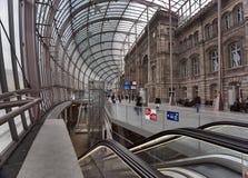 Estação de comboio de Stasbourg horizontal fotos de stock