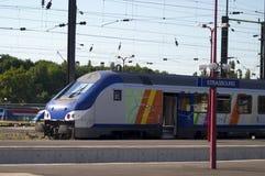 Estação de comboio de Strasbourg imagens de stock royalty free