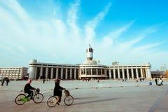 Estação de comboio de Tianjin fotos de stock royalty free