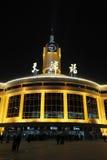 Estação de comboio de Tianjin fotos de stock