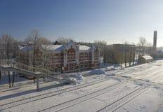 Estação de comboio de Venev imagem de stock