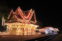 Estação de comboio do hin de Hua fotos de stock