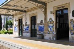 Estação de comboio do pinhao Imagem de Stock Royalty Free