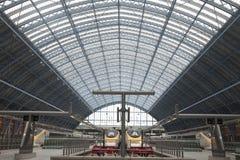 Estação de comboio do St Pancras fotos de stock
