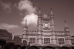 Estação de comboio dos hidromel do templo de Bristol fotos de stock