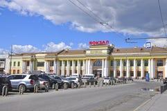 A estação de comboio Ekaterinburg foto de stock