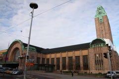 Estação de comboio em Helsínquia fotos de stock