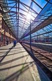 Estação de comboio em Helsínquia Finlandia imagens de stock royalty free