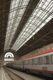 Estação de comboio em Hungria foto de stock