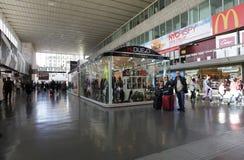 Estação de comboio em Roma, Italy foto de stock royalty free