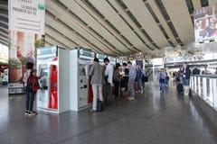 Estação de comboio em Roma, Italy fotografia de stock royalty free