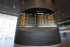 Estação de comboio em Roma, Italy imagem de stock royalty free
