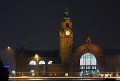 Estação de comboio em Wiesbaden germany fotos de stock