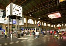 Estação de comboio em Zurique switzerland fotos de stock royalty free