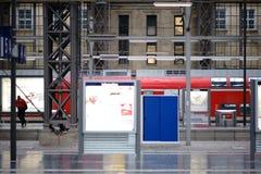 Estação de comboio Francoforte foto de stock