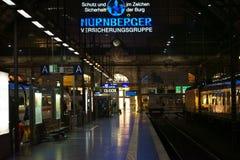 Estação de comboio Francoforte fotografia de stock royalty free