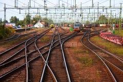 Estação de comboio grande imagem de stock royalty free