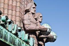 Estação de comboio Helsínquia foto de stock royalty free