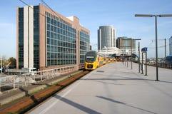 Estação de comboio moderna fotografia de stock royalty free