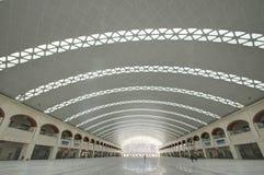 Estação de comboio ocidental de Harbin imagem de stock