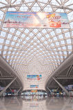 Estação de comboio sul de Guangzhou imagens de stock
