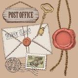 Estação de correios Fotos de Stock