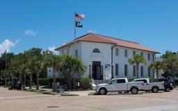 Estação de correios, Apalachicola, Florida imagem de stock