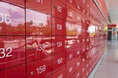 Estação de correios borrada em Tailândia para o fundo fotografia de stock