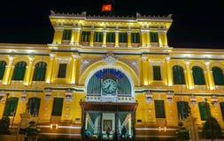 Estação de correios da central de Saigon Fotos de Stock