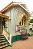 Estação de correios de Childers e loja de lembranças da herança em Queensland, Austrália fotografia de stock