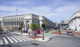 Estação de correios do Estados Unidos, Dorothy Height Branch em Washington - WASHINGTON DC - COLÔMBIA - 7 de abril de 2017 Imagem de Stock Royalty Free