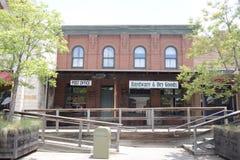 Estação de correios e loja de bens secos no jardim zoológico de Fort Worth, Fort Worth, Texas Foto de Stock Royalty Free