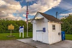 A estação de correios a menor no Estados Unidos, Ochopee, Florida Fotografia de Stock Royalty Free
