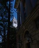 A estação de correios velha Bell e torre de pulso de disparo Washington, D C, Fotos de Stock Royalty Free