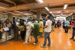 A estação de corrida de cavalos começa em Hong Kong fotografia de stock
