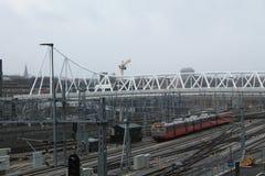 Estação de estrada de ferro Fotos de Stock
