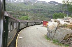 Estação de estrada de ferro Fotografia de Stock Royalty Free