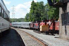Estação de estrada de ferro velha Imagem de Stock Royalty Free