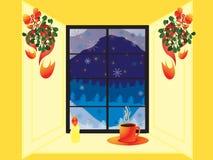 Estação de feriado do inverno ilustração do vetor