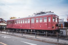 Estação de Fujikawaguchiko foto de stock royalty free