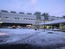Estação de Fukui no inverno Fotografia de Stock
