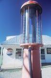 Estação de gasolina antiga, Sena, nanômetro fotografia de stock royalty free