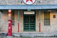 estação de gasolina III de Texaco da era dos anos 20 Imagens de Stock