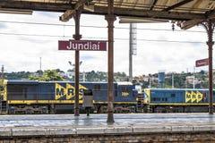 Estação de Jundiai imagens de stock royalty free
