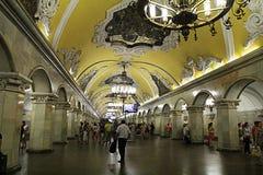 Estação de Komsomolskaja fotografia de stock royalty free